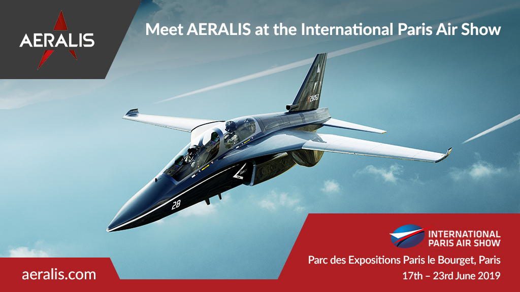 Meet AERALIS at the International Paris Air Show
