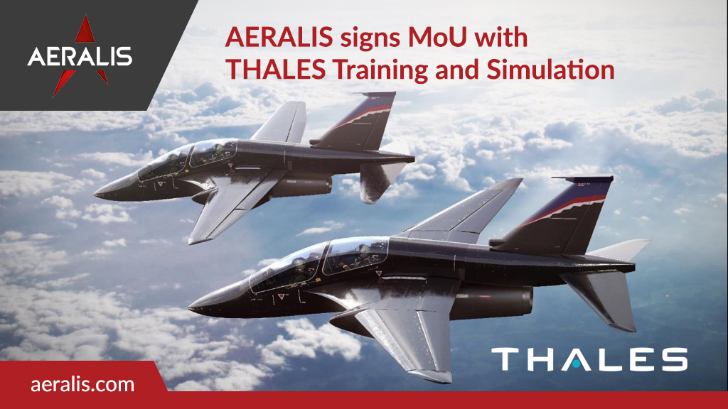 AERALIS signs MoU with THALES Training and Simulation